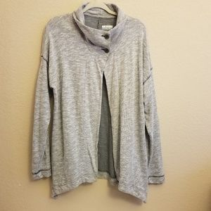 Columbia Sportswear Heather Gray Wrap Cardigan